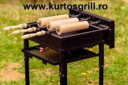 3 rudas kürtőskalács sütő gép