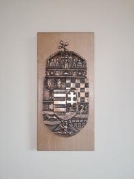 Alumínium és bronz címerek, dísztárgyak