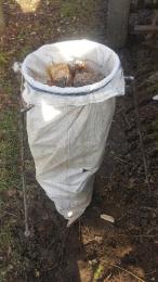 Aprított zsákos fa