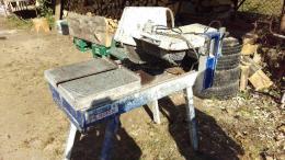 Asztali tegla es kovago gep 2.2 KW