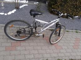 Bicikli, Kerékpár, első, hátsó teleszkop tárcsafék
