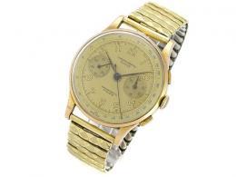 Chronograph SUISSE 18 karátos arany karóra