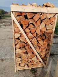 Csomagolt bükk tűzifa