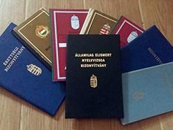Diploma Érettségi Nyelvvizsga Szakmunkás OKJ