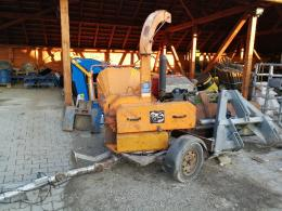 Fa - ág örlőgép, faaprító, Jensen A521DI