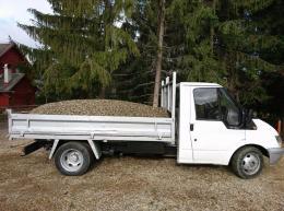 Fuvarozást vállalok 3,5t billenős teherautóval!