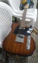 Green elektromos telecaster gitár