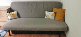 3 személyes kinyitható ikea kanapé