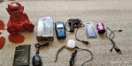 Kis hangszorok, ragasztopisztoly, tavolsagmero