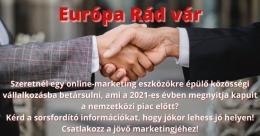 Közösségi vállalkozás - Európai piacnyitás