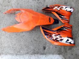 KTM exc 450 idomok 2010 -es