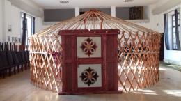 Mongol jurta faváz