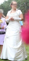 Nagyon jó állapotban lévő menyasszonyi ruha