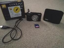 Nikon Coolpix fényképezőgép