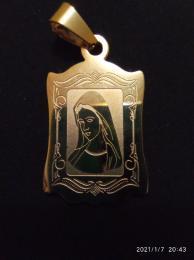Nyaklanc Maria medallal