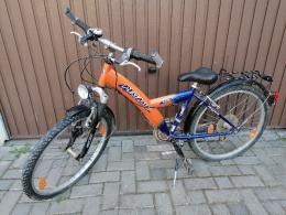 """MEGKIMELT Pegasus 24"""" gyerek bicikli"""