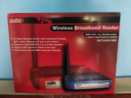 Qubs wireless router