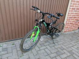 """UJSZERU ALLAPOTBAN Rich 24"""" - os gyerek bicikli"""