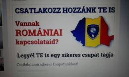 Román kapcsolatokkal rendelkező munkatársakat keresek!