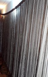 Spagetti függöny ùj àllapotban, szonyeggel es 1 gyönyörű abr