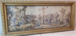 Szőttes kép, Jézus Krisztus születése, keresztrefeszítése, m