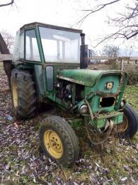 Traktor és ladewagen
