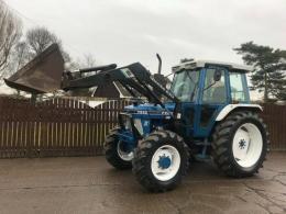 Traktor Ford 6-f-7I0/ Quicke 434O