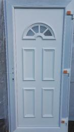 Új termopán bejárati ajtó - ingyenes házhoz szállítás