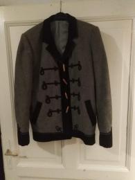 Vitézkötéses kabát
