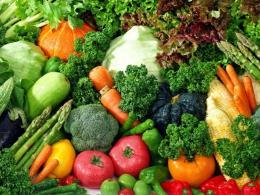 Zöldség es gyümölcs csomagolás.